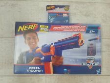 **NEW** Hasbro Nerf N-Strike Elite Delta Trooper Toy Gun & Extra Bullets Pack
