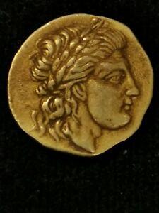Ancient Greek gold coin, 18  ct. 3.99 gram