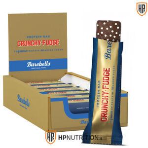 Barebells Protein Bar Crunchy Fudge Box of 12 x 55g **NEW FLAVOUR 2020