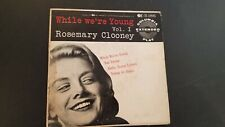 45P*PIC SLEEVE* ROSEMARY CLOONEY WHILE WE WERE YOUNG EP ON COLUMBIA RECORDS VOL1
