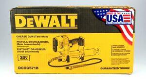 *DEWALT DCGG571B 20V MAX Li-Ion Grease Gun (Tool Only)