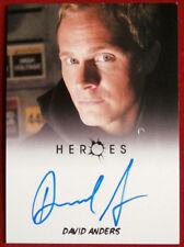 HEROES - DAVID ANDERS as Adam Monroe - Autograph Card - Rittenhouse 2010