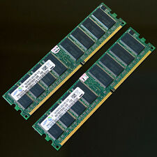 Samsung 2GB (2x1GB) DDR400 PC3200 400MHZ CL3 Desktop memory RAM 184PIN non ecc