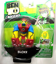 "Bandai, Ben 10 Omniverse, Bloxx, Action Figure, 4"", Cartoon Network, Brand New"
