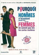DVD--POURQUOI LES HOMMES N'ECOUTENT JAMAIS RIEN ET LES FEMMES NE SAVENT PAS...