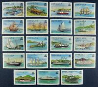 Grenada 1980 Schiffe Ships Navi Bateaux Freimarken 1047-65 AI Postfrisch MNH