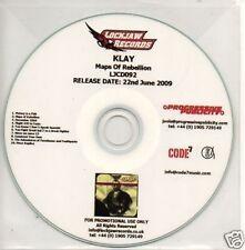 (780L) Klay, Maps of Rebellion - DJ CD