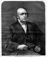 LOUIS AGASSIZ, PROFESSOR OF NATURAL HISTORY, SWISS PALEONTOLOGIST, GEOLOGIST