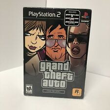 Grand Theft Auto: The Trilogy (Sony PlayStation 2, 2006) brand new