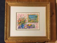 Signed Seriolithograph by Jean Claude Picot