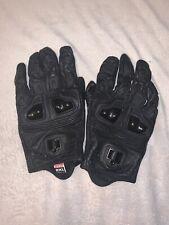 Icon Justice Leather Gloves Men's 2XL Street Sport Bike Bagger
