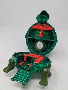 Vintage Tmnt Metallic Muta Metals Leonardo Mini Mutant Playset Ninja Turtles