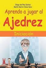 NEW Aprendo a jugar al ajedrez: Iniciacion (Escaques) (Spanish Edition)