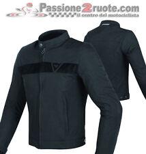 Giacca moto Dainese Stripes Tex nero