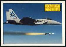 McDonnell Douglas F-15 Eagle #33 Desert Storm 1991 Merlin Sticker (C959)