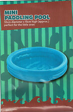 Baby Toddler Paddling Pool 2 Ring Small 55cm Inflatable Home Garden Holiday Fun