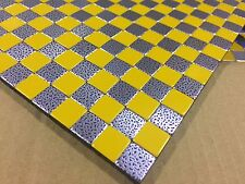 NEW MOSAIC ALUMINUM COMPOSITE WALL TILES- 293MM X 293MM - LOT OF 26