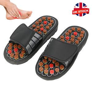 Massage Slippers Sandal Feet Reflexology Acupressure Acupuncture NEW UK