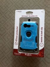 Trident Kraken Hybrid case + Holster, Screen Protector, HTC Droid Incredible 2/S