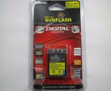 SANYO DB-L10/OLYMPUS Li-10B/12B Replacement Battery Li-Ion 3.7V 900mAh