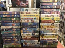 Bundle of Mixed Children's VHS Video (Quantity 6), Supplied by Gaming Squad