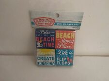 Ron Jon Surf Shop Kitchen Refrigerator Magnets Beach Flip Flops Sunshine Lot Set