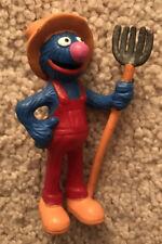 Grover the Farmer PVC Figure from Sesame Street