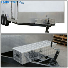 30x13x98 Cuboid Aluminum Camper Tool Box For Flatbed Rv Camper Withside Handle Fits Tacoma