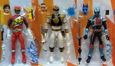 POWER RANGERS LIGHNING - WHITE RANGER, SHADOW RANGER, RED DINO CHARGE RANGER