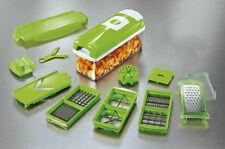 12-in-1 Food Slicer N Dicer Plus Vegtable Fruit Cutter Peeler Chopper Nicer Cont