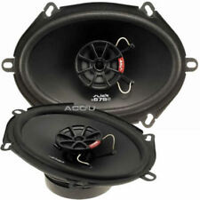 Vibe SLICK57 V7 Slick Series 2 5x7 inch 480w Car Door Shelf Coaxial Speakers Set