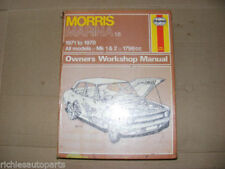 Marina 1976 Car Service & Repair Manuals