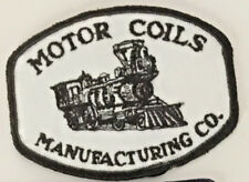 Motor Coils Manufacturing Co. Patch 3 X 4 #2615