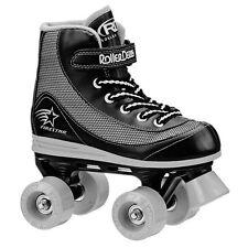 Roller Derby 1378-03 Firestar Youth Boys Roller Skate Size 3 Black/Gray NEW