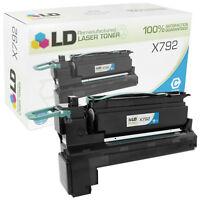 LD Remanufactured Lexmark X792/X792X1CG Extra HY Cyan Toner Cartridge