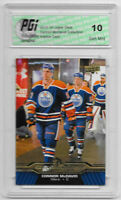Connor McDavid 2015-16 Upper Deck Collection #CM-11 Rookie Card PGI 10 Oilers