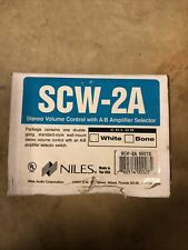 Niles SCW-2A Stereo Volume Control With A/B Amplifier Selector
