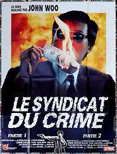 1990 A BETTER TOMORROW John Woo Chow Yun Fat RARE French 47x63 movie poster