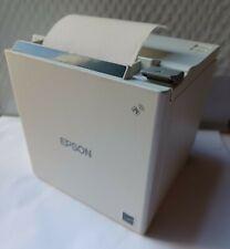 Epson Tm M30ii Thermal Pos Receipt Printer Usb Lan Auto Cutter Ps White Amp Paper