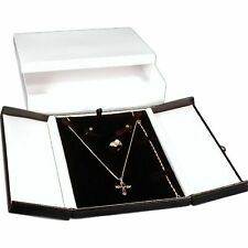 Black Amp White Earring Ring Necklace Combo Jewelry Box With Snap Lid Kit 36 Pcs