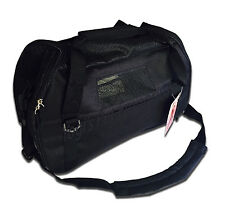 Black -Pet Carrier Oxford Soft Side Dog/Cat Airline Approved Shoulder Bag Small