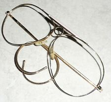 VINTAGE FRANCE FRENCH FRAME AVIATOR WIRE SAFETY ARMS METAL FRAME 1950s 60s NOS