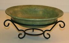 *(NEW) Southern Living at Home/Willow House Santorini Bowl w/Round Stand