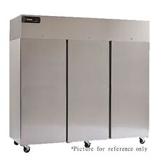 Delfield Gbf3-S Three Section Reach-In Freezer with Solid Full Height Door