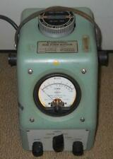 PHILCO SIERRA 400A  TUBE VSWR PEAK POWER METER 500 5000 WATT MONITOR