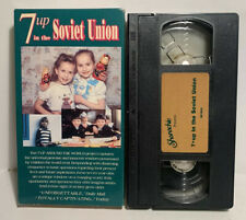 7 up in the Soviet Union (1993, VHS) HTF OOP RARE