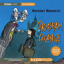 Groosham Grange by Anthony Horowitz (3CD-Audiobook 2007) read Nickolas Grace