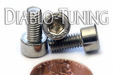 M5 x 10mm - Qty 50 - DIN 912 SOCKET HEAD Cap Screws - Stainless Steel A2 / 18-8