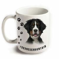 BERNESE MOUNTAIN Hund Tasse Becher Hashtag Hunderasse Haustier Tiere Kaffee Tee