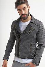 Goosecraft cuir délavé jean perfecto Supreme Qualité Mouton Nappa 3 XL 👀 🔥 🔥